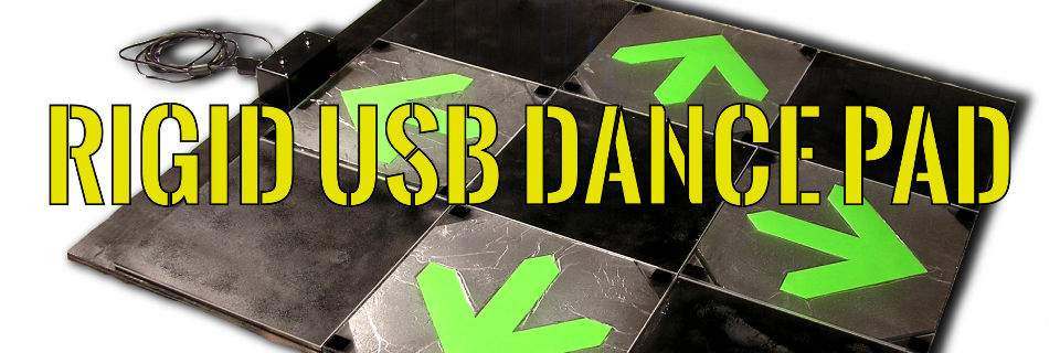 Rigid USB Dance Pad