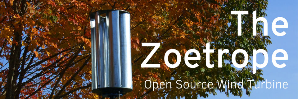 The Zoetrope - Open Source Wind Turbine
